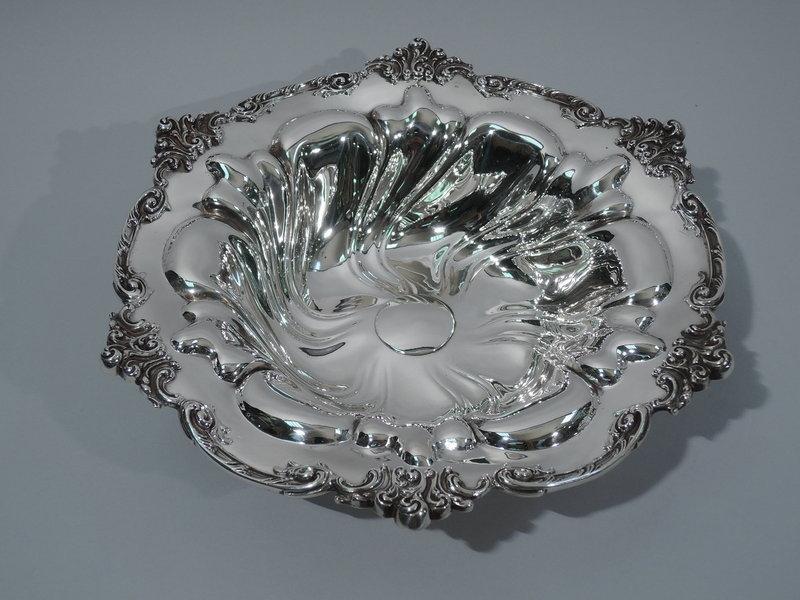 Fancy Sterling Silver Bowl by Durgin