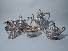 Gorham Grand Chantilly Sterling Silver Tea & Coffee Set