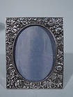 Stieff Sterling Silver Picture Frame with Classic Baltimore Repousse