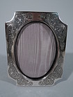 Antique Sterling Silver Boudoir Picture Frame - American C 1915