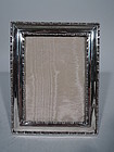 Tiffany Marquise Sterling Silver Picture Frame C 1898