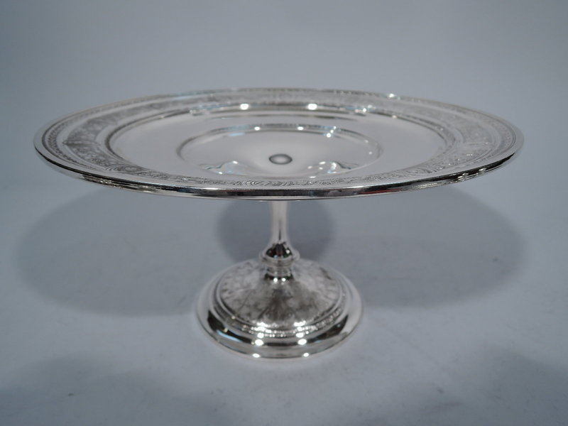 Antique International Wedgwood Sterling Silver Compote