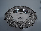 Kirk Sterling Silver Bowl with Beautiful Baltimore Repousse