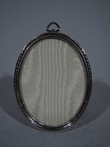 Antique American Sterling Silver Picture Frame