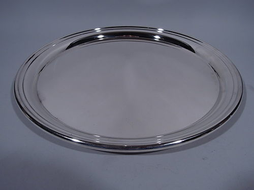 Large Cartier Sterling Silver Serving Tray