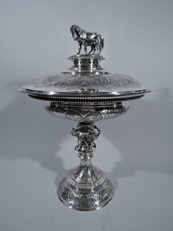 Of Chinese Silver Interest � Victorian Singapore Horse Racing Trophy