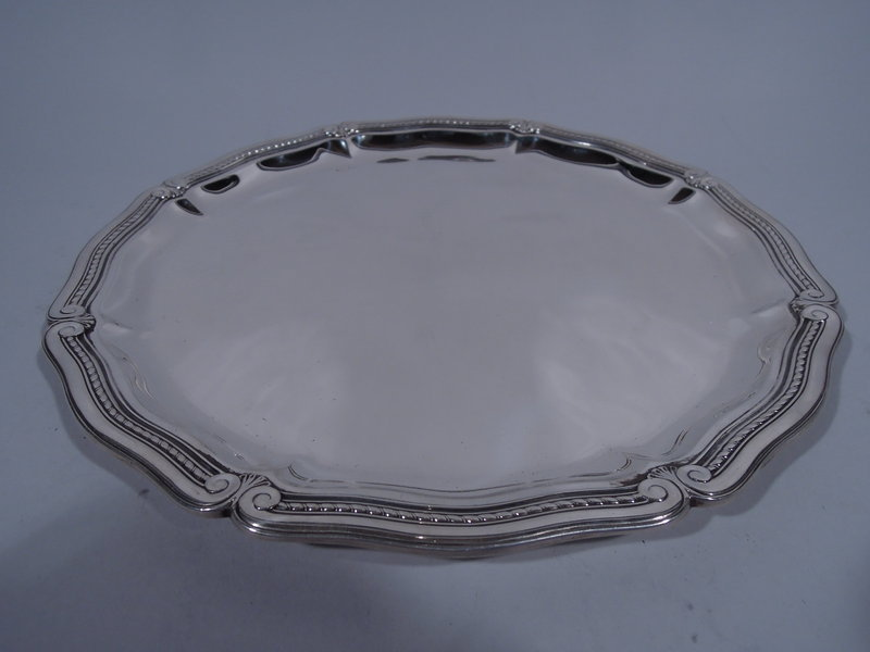 Tiffany Modern Classical Sterling Silver Serving Tray C 1911