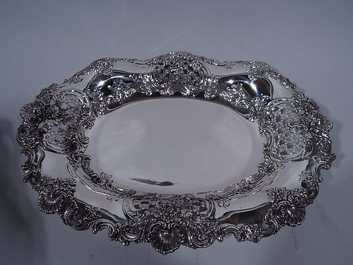 Fancy Antique Sterling Silver Bowl by Tiffany & Co.