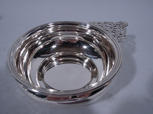 Pretty Sterling Silver Porringer by Gorham