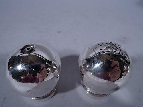Georg Jensen Sterling Silver Salt & Pepper Shakers