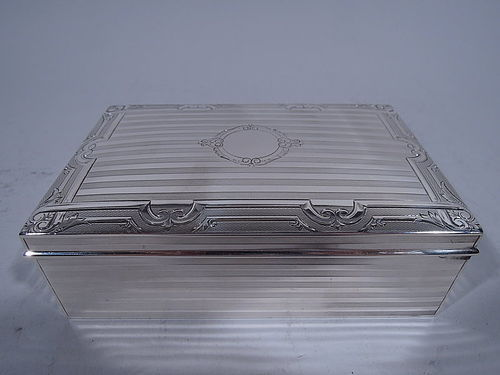 Antique American Edwardian Sterling Silver Box