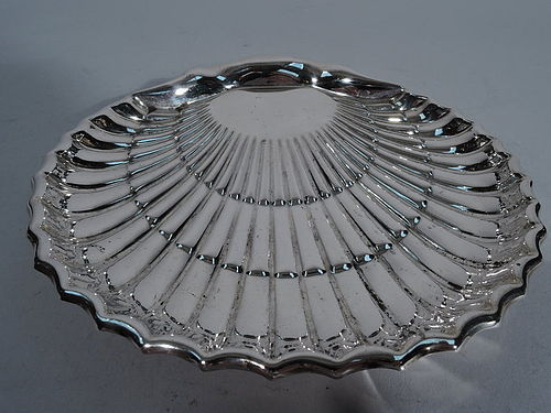 American Sterling Silver Scallop Shell Bowl