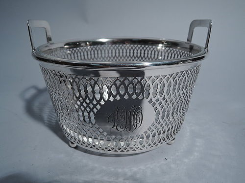 Antique American Sterling Silver Ice Bucket