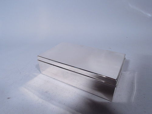 Tiffany Sterling Silver Desk Box