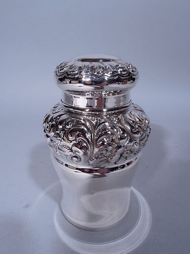 Antique Frank Whiting Sterling Silver Tea Caddy