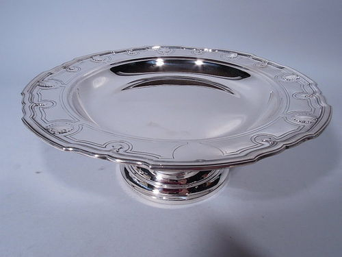 Tiffany Modern Classical Sterling Silver Compote