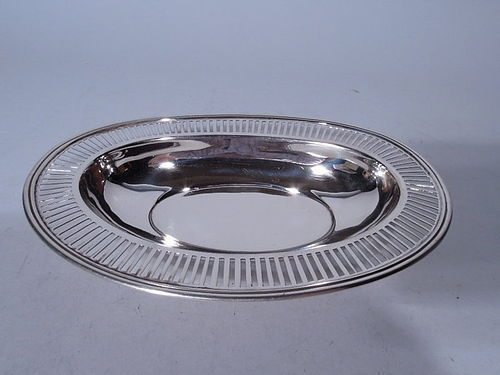 Tiffany Edwardian Sterling Silver Pierced Bowl