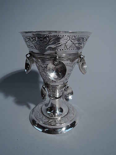Antique Norwegian Silver Cup in Beautiful Condition C 1800