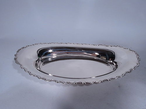 Antique Whiting Sterling Silver Bread Tray C 1920