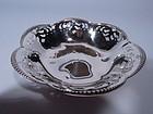 Antique Tiffany Sterling Silver Pierced Bowl C 1898
