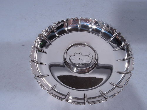 Bulgari Sterling Silver Bowl with English County Association - Sussex
