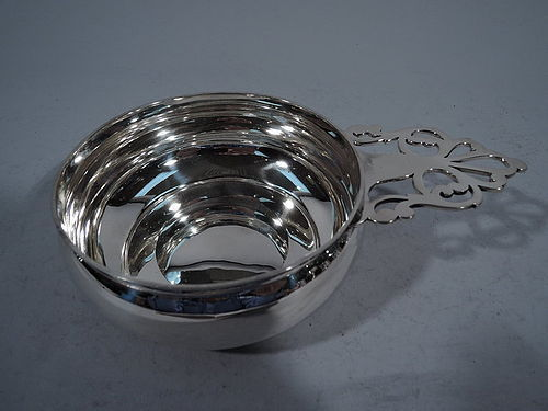 Antique Tiffany Sterling Silver Porringer after 1780 Colonial Model