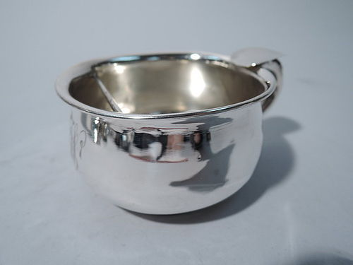 American Sterling Silver Shaving Cup C 1915