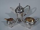 Wonderful Danish Art Nouveau Silver Coffee Service