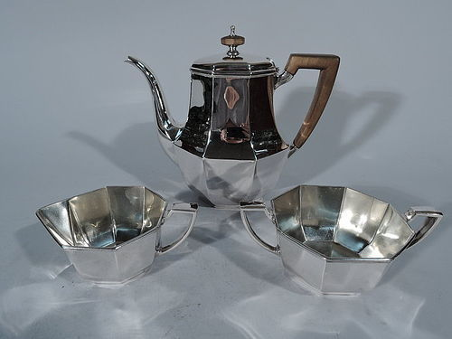 Tiffany Art Deco Sterling Silver Tea Set