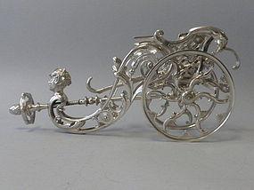 Austrian Silverplated Wine Caddy by Berndorf C 1880