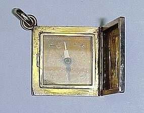 14Kt Gold Fob / Pendant with Compass