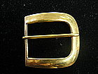Tiffany & Co. 18 Karat Gold Belt Buckle