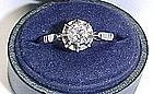 Diamond Solitaire in Platinum Setting