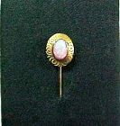 Great Opal and 14Kt Gold Stick Pin, Lapel pin