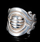 RARE Hector AGUILAR 940 SILVER OLD MAGUEY RING