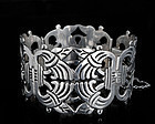 Early DECO MEXICAN SILVER pre-COLOMBIAN mtf BRACELET
