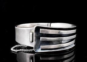 early Sigi Pineda Mexican silver mod Bracelet des. 15