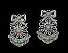 early Matl Matilde Poulat Mexican silver Earrings