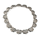 Maximiliano Mondragon Mexican 980 silver Necklace