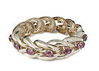 Parisina Mexican silver and gems Bracelet ~ Marcel Boucher