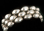 "William Spratling Mexican Silver ""Pillows"" Bracelet"