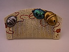 Japanese E. Showa Period Bell Design Comb