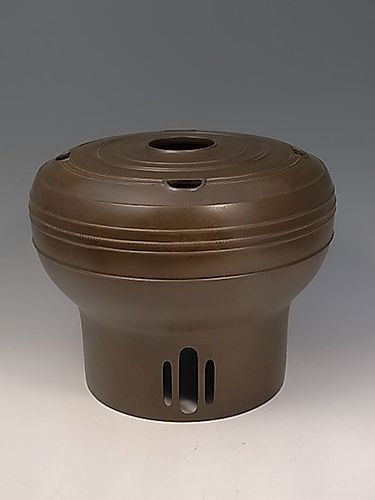 Japanese Mid 20th C. Bronze Vase by Hori Joshin