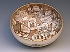Japanese E. 20th C. Satsuma Bowl