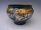 Japanese 20th C. Cloisonne Vase by Tanaka Terukazu