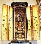 Japanese Mid 19th Century Buddhist Senjyu Kannon