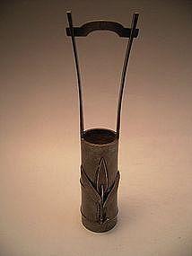 Japanese E 20th C Sterling Vase - RECOVERED!