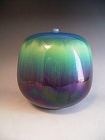 Japanese Porcelain Vase by LNT Tokuda Yasokichi III