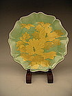 Japanese 20th Century Plate by LNT Yoshida Minori