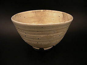 Japanese 20th C. Nakamura Baizan Kutani-yaki Tea Bowl